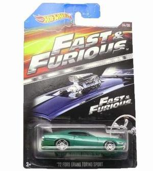 Hot wheels rapidos y furiosos 72 ford grand torino sport fas