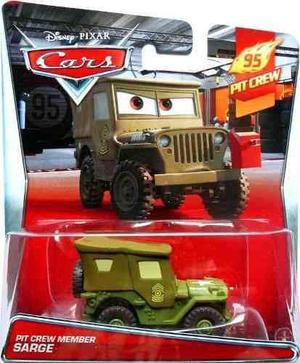 Mc mad car auto pit crew member sarge cars disney pixar