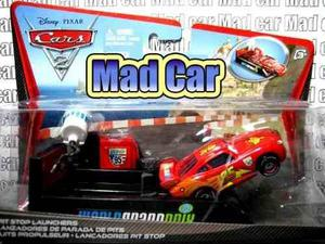 Mc mad car cars 2 disney pixar mc queen lanzador mcqueen