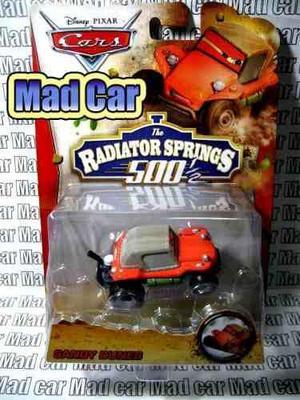 Mc mad car cars disney pixar auto radiator 500 sandy dunes