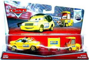 Mc mad car cars disney pixar chief rpm petrol pulaski pack