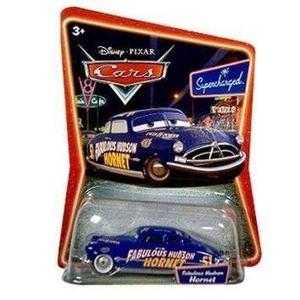 Mc mad car cars disney pixar coleccion auto doc hudson racer