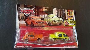 Mc mad car cars disney pixar grem acer in trouble pack
