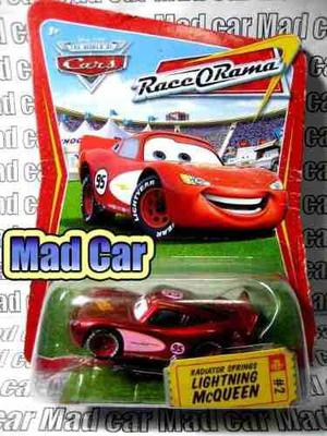 Mc mad car cars disney pixar mc queen mcqueen coleccion