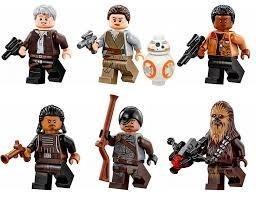 Munecos Star Wars Compatible Lego Juguete Coleccion