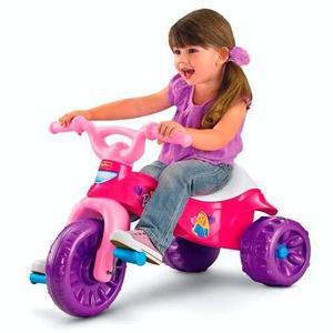 Triciclo fisher price niña barbie kawasaki- original y