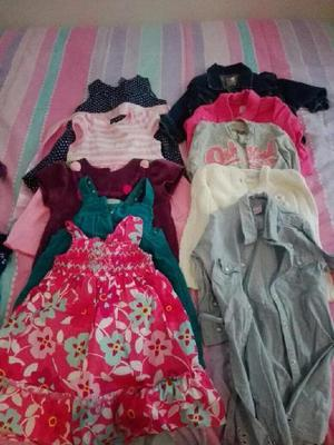 Vendo ropa de niña de segunda 8 soles pz