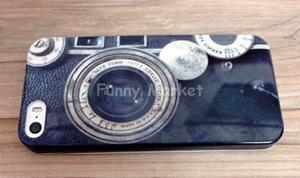Carcasa case iphone 5 - iphone 5s se cámara retro 15 soles