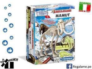 Clementoni arqueojugando mamut fosforescente - original