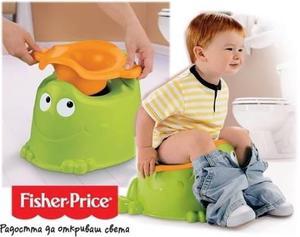 Fisher price bacín entrenamiento froggy bebe aprende ranita