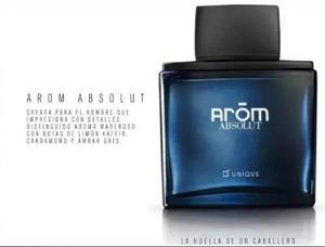 Perfume arom absolut unique hombre gran original y nuevo!