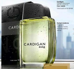 Perfume cardigan esika menta lavanda cipres vetiver