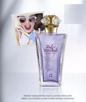 Perfume dulce vanidad unique mujer gran original y nuevo!