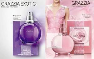 Perfume grazzia exotic grazzia rosado nuevo sellado garantia