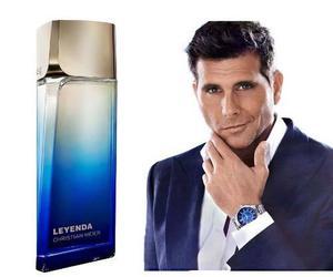 Perfume leyenda de christian meier - ésika (nuevo, sellado)