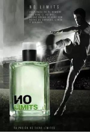Perfume no limits unique hombre gran original y nuevo!