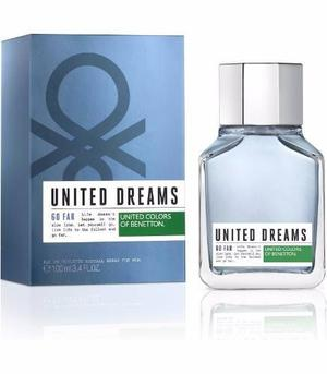 Perfume para hombre beneton united dreams go far 30 ml.