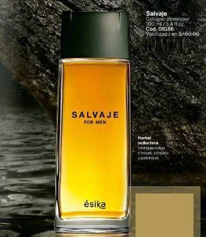 Perfume salvaje hombre esika nuevo sellado garantía