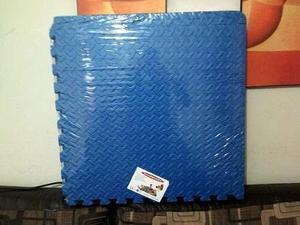 Pisos didácticos antigolpes para bebes 15mm color azul