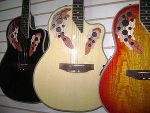 Guitarra electroacústica fibra vidrio mastil delgdo d-carlo
