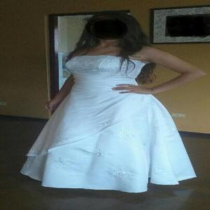 Hermoso vestido de novia talla m
