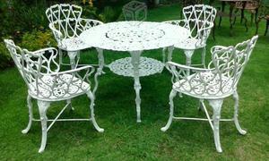 Juego de muebles para jardín en aluminio fundido en Lima [ANUNCIOS ...