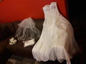 Lindo vestido novia