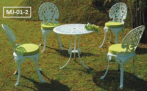 Juego muebles jardin aluminio anuncios mayo clasf for Muebles de aluminio para jardin