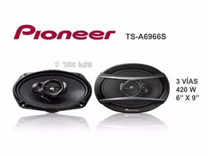 Parlante pioneer ovalado ts-a6966s 420 w modelo 2016
