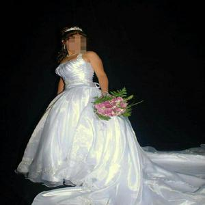 Vendo vestido de novia un solo uso