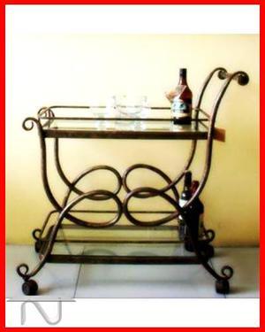 Carrito Bar, Xcbdn00002 Xdnmb Mueblesdeconuevoestilo