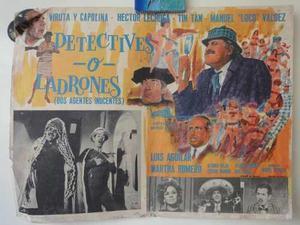 Detectives o ladrones dos agentes inocentes tin tan capulina