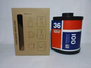 Dispensador de papel higienico deco camara fotografica