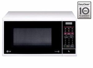 Horno microondas easy clean lg - ms1142w 32lts - blanco