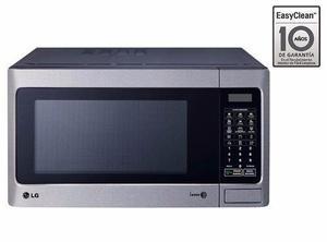 Horno microondas easy clean - lg ms1142x 32lt. - plata