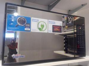 Horno microondas samsung 32 litros nuevo sin uso espejado