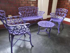Juego Muebles Jardin Aluminio Anuncios Mayo Clasf