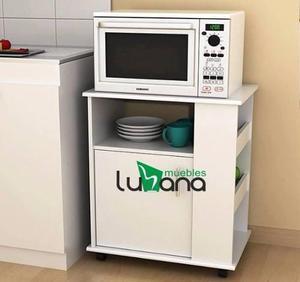 Mueble organizador melamina microondas de cocina en Lima 【 ANUNCIOS ...