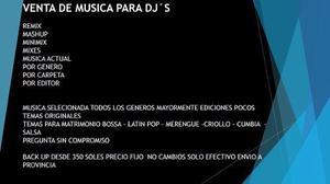 Musica para dj fiesta discoteca bar remix mashup mixes