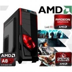 CPU FULL GAMER -CABINERO AMD A8 -NUEVA CON GARANTIA segunda mano  Lima (Lima)