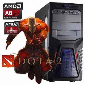 CPU GAMER DOTA2 AMD A8 RAM8GB 1TB VIDEO R7 2GB INTEGRADO segunda mano  Lima (Lima)