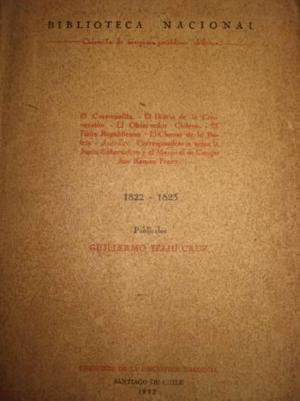 Coleccion de antiguos periodicos chilenos 1822 1823 g.feliu