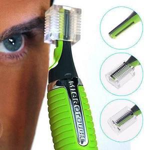 Gm depilador touch max de cejas oidos nariz con foco led