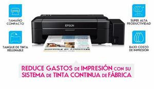 Impresora epson l310 sistema continuo fabrica hogar oficina
