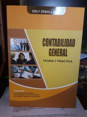 libro contabilidad general teoría y práctica erly en lima