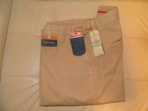 Pantalones tommy bahama, black&brown, johnston&murphy
