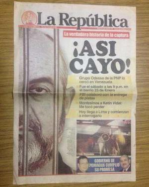 Vladimiro montesinos fujimori periódicos república