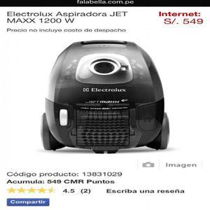 Aspiradora electrolux jet maxx 1200 w