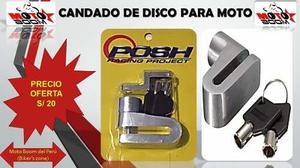 fd10589cb53 Candado de disco - para motos - 100% titanio (fb. motoboom)