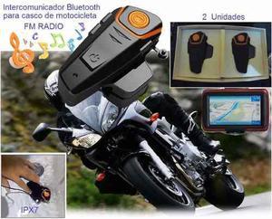 08998d38f21 Intercomunicador bluetooth casco moto a prueba de agua ipx7